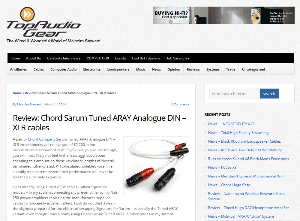 top-audio-gear-chord-sarum-din-xlr